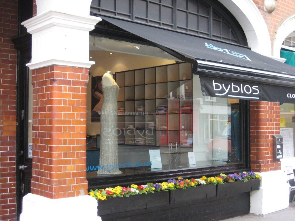 Victoria shop, Belgravia shop